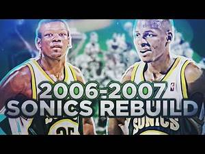 BEST RECORD EVER?! REBUILDING THE '06-'07 SUPERSONICS! NBA 2K17