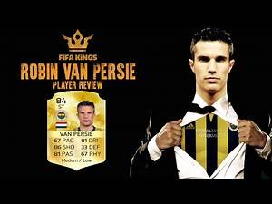 FIFA 16 Ultimate Team Robin van Persie REVIEW and in game stats