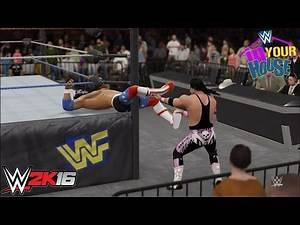 WWE 2k16 - Bret Hart vs. The Patriot | PS4 Gameplay