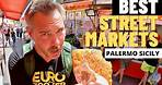 #1 BEST STREET MARKETS IN PALERMO SICILY   Italy Travel Vlog