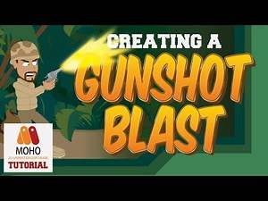Creating a gunshot/muzzle blast in Anime Studio Pro - MOHO Pro