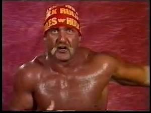 Hulk Hogan Promo [1989-10-14]