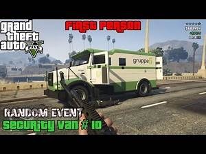GTA 5 ★ Random Event # 21 ★ Security Van # 10 [Location Guide]