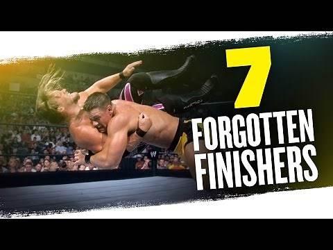 7 forgotten WWE finishers