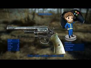 Fallout 4 Mod of the day: New Vegas Uniques 17 [Mysterious Magnum]