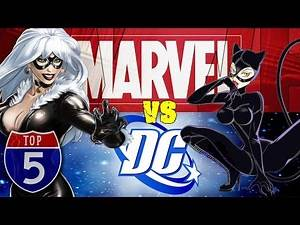 Top 5 Similar Characters Marvel And DC