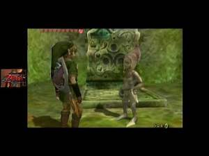 Zelda: Twilight Princess [GC] (Commentary) #037, Bridge Repair Fund; Kakariko Gorge Cave
