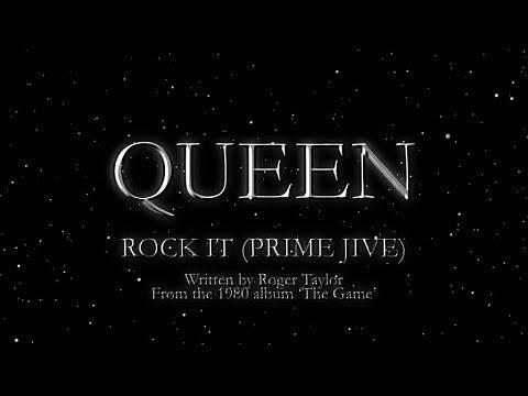 Queen - Rock It (Prime Jive) (Official Lyric Video)