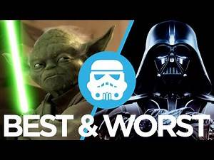The Best & Worst Star Wars Movies Ranked : Movie Feuds ep145
