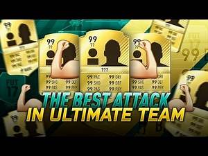 THE BEST POSSIBLE ATTACK IN FIFA 17 ULTIMATE TEAM - BEST FUT CHAMPIONS STRIKE FORCE EVER !!!!