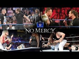 WWE No Mercy 2016 Full Match Card Predictions!