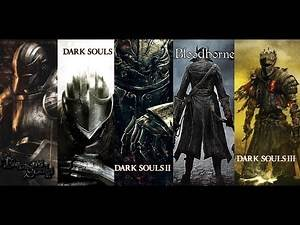 Dark Souls 3 - Bosses Evolution (Demon's Souls, Dark Souls, Bloodborne)