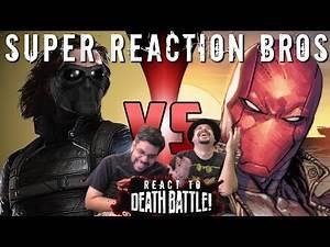 SRB Reacts to Winter Soldier vs. Red Hood | DEATH BATTLE!