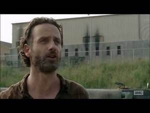 Walking Dead Rick attempts to stop the Sharkeisha fight