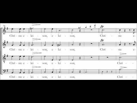 Kyrie - Mass in G major DV167 - Schubert