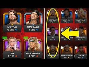 *NEW WWE GAME* WWE Universe Roster (Ft. Big Debuts, Returns & Strange Inclusions)