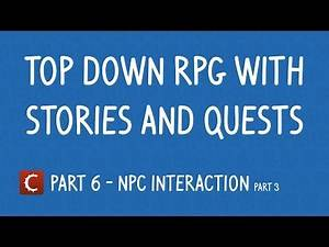 Basic RPG with quests Part 6 [stencyl]