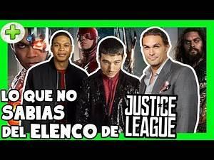 Curiosidades del cast de La Liga de la Justicia (JASON MOMOA, EZRA MILLER & RAY FISHER) -PLUS #30