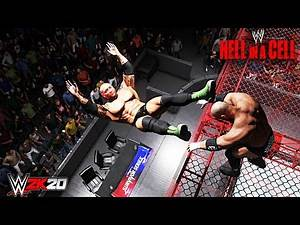 Triple H vs Batista- Hell In A Cell Match- WWE Championship- WWE 2K20