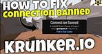 How to remove IP-Ban in Krunker.io (Connection Banned) 2021