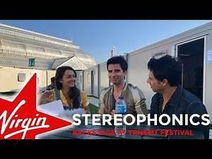 Stereophonics backstage at TRNSMT Festival 2018