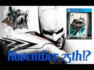 Batman Return to Arkham - New Release Date!?