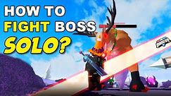 How to SOLO FIGHT Reindeer Boss? (Roblox Mad City Season 7)