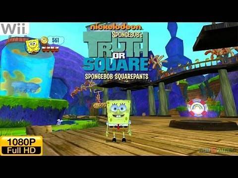 SpongeBob's Truth or Square - Wii Gameplay 1080p (Dolphin GC/Wii Emulator)