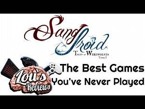 Sang-Froid: Tales of Werewolves - The Best You've Never Played