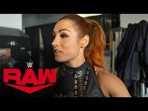 Becky Lynch doesn't care about WWE brands: Raw Exclusive, Nov. 18, 2019