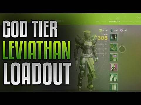 Destiny 2 - Best Leviathan Raid Loadout! [GOD TIER]