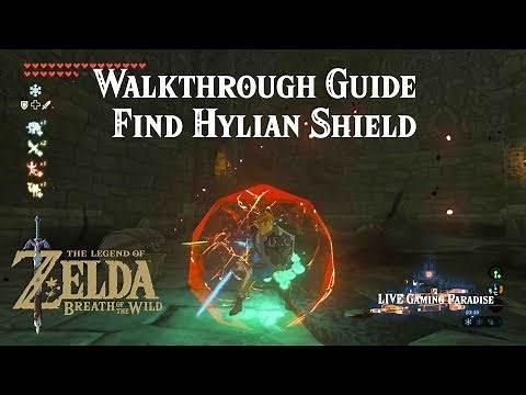 Breath of the Wild   Hylian Shield Quest   Walkthrough Guide