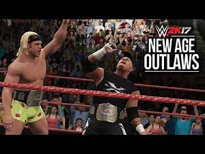 WWE 2K17: New Age Outlaws Championship Entrance!