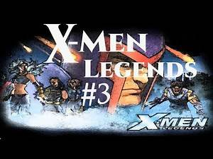 X-Men Legends Solo Playthrough No Commentary [Gamecube] #3   X-Mansion/Magma Danger Room
