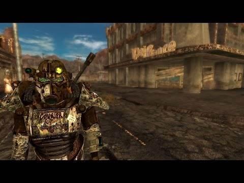 Courier 6 Power Armor - Fallout New Vegas Mod