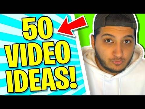 YouTube video ideas that will BLOW UP