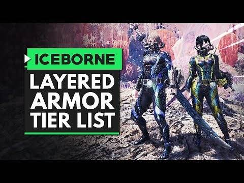 Monster Hunter World Iceborne | The Ultimate Layered Armor Tier List