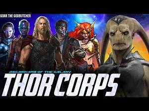 Asgardians of the Galaxy Assemble for the Final Battle in Thor 4 + Gorr & The Odin Force in Phase 4