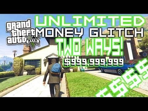 EASIEST GTA 5 MONEY GLITCH (TWO WAYS) (STORY MODE) Xbox One & PS4