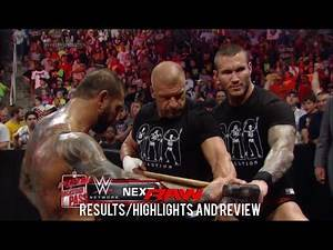 WWE RAW 5/26/14 Results/Highlights & Review, Evolution & The Shield contract signing