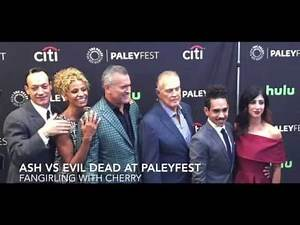 Ash vs Evil Dead at the Paley Center - Fangirling with Cherry