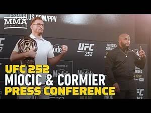 UFC 252: Stipe Miocic vs. Daniel Cormier Press Conference