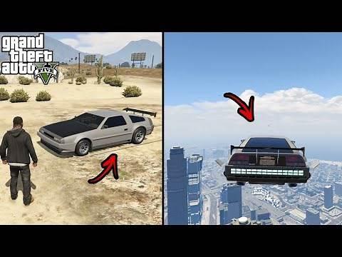 Secret Flying Car Location - Deluxo in GTA V Story Mode