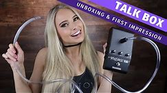 Using a Talk Box for the First Time