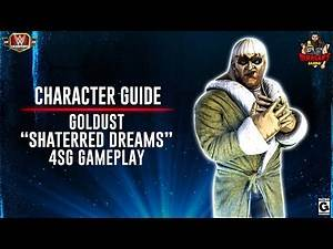 """Character Guide Series: Goldust """"Shattered Dreams"""" 4SG Gameplay ! / WWE Champions 😺"""