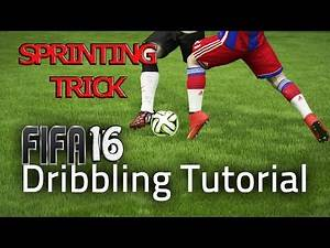 FIFA 17 (16) EXPLOIT TUTORIAL - SPRINTING TRICK / NO TOUCH DRIBBLING SPRINTING BOOST