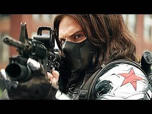 The Winter Soldier - Fight Moves Compilation HD 1080p