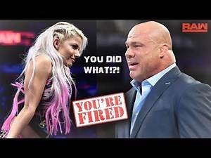 Real Reason Why Kurt Angle was Fired as RAW GM (WWE RAW)