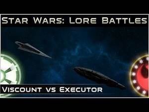 Viscount vs Executor - Lore Battles - [ Star Wars: Legends  Expanded Universe ]