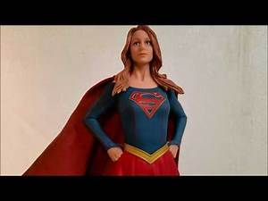 "Supergirl TV Series Porcelain Statue DC Collectibles (12.5"") Review #115"